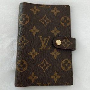 Louis Vuitton wallet calendar